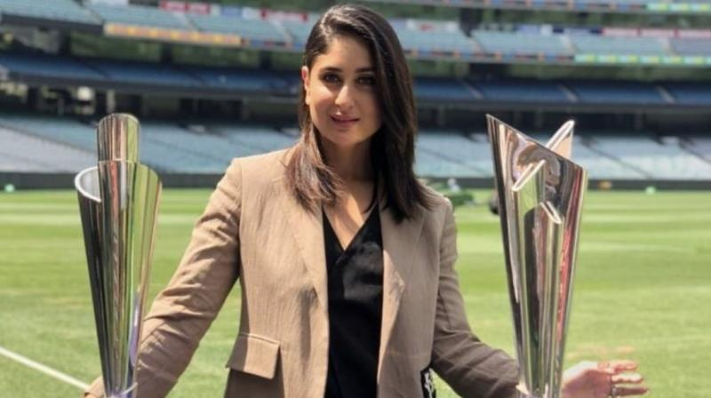 Bollywood actress Kareena Kapoor Khan has unveiled the 2020 T20I World Cups (men's and women's) that will take place in Australia next year. (Photo: Twitter/ Circle of Cricket)