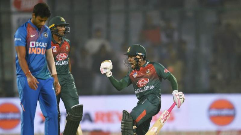 The second T20I between India and Bangladesh is scheduled to commence at 7 pm at the Saurashtra Cricket Association Stadium on the outskirts of the city. (Photo: PTI)
