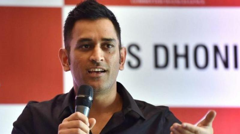 Image result for dhoni as a commentator