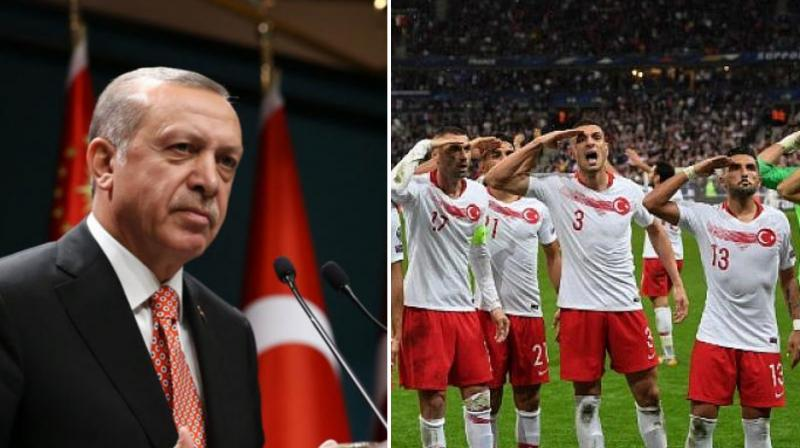 Turkey President Recep Tayyip Erdogan said this was part of a wider campaign against Turkish sports stars who supported the operation. (Photo: AFP collage)
