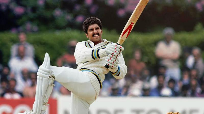 Ranveer Singh has left no stone unturned to get into the character of Kapil Dev. He was earlier seen jotting down notes from the ace cricketer at his residence in London. (Photo: Twitter/ Ranveer Singh)
