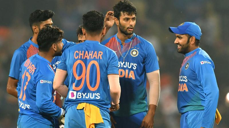 Team India was feeling the pressure imposed by the duo, and it was at that time that Captain Rohit Sharma calmed their nerves. (Photo: AFP)