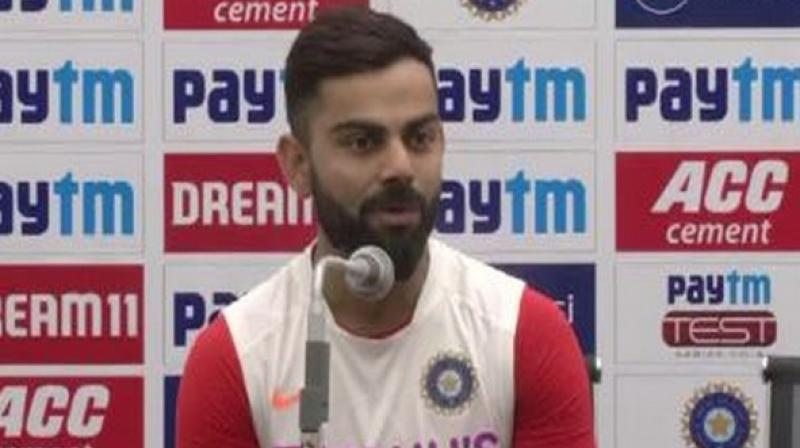 According to Virat Kohli, not losing the attacking spirit with the ball despite it being soft is the key to win matches. (Photo: ANI)