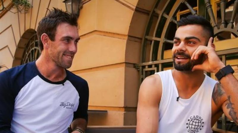 Virat Kohli has full support for Glenn Maxwell, who recently decided to take a break from cricket to deal with his mental health issues. (Photo: Screengrab/ YouTube)