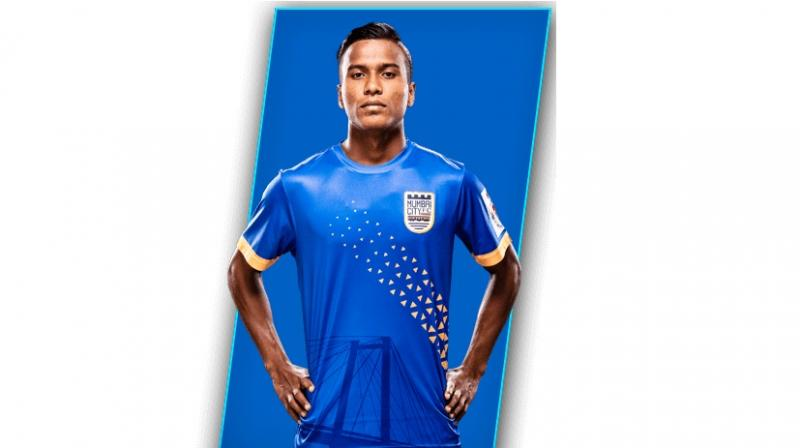 Although primarily playing the role of a striker, Pranjal Bhumij can also play on either side of the wings as well as an attacking midfielder. (Photo: Mumbai City FC website)