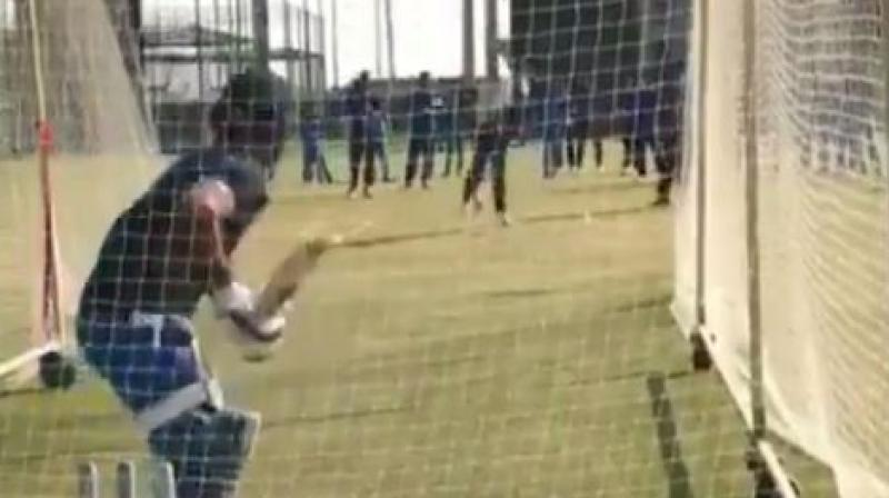 Ever since that World Cup semifinal loss to New Zealand, Mahendra Singh Dhoni's future has been a subject of intense speculation but the player himself has not spoken a word on it. (Photo: Screengrab/ Twitter)