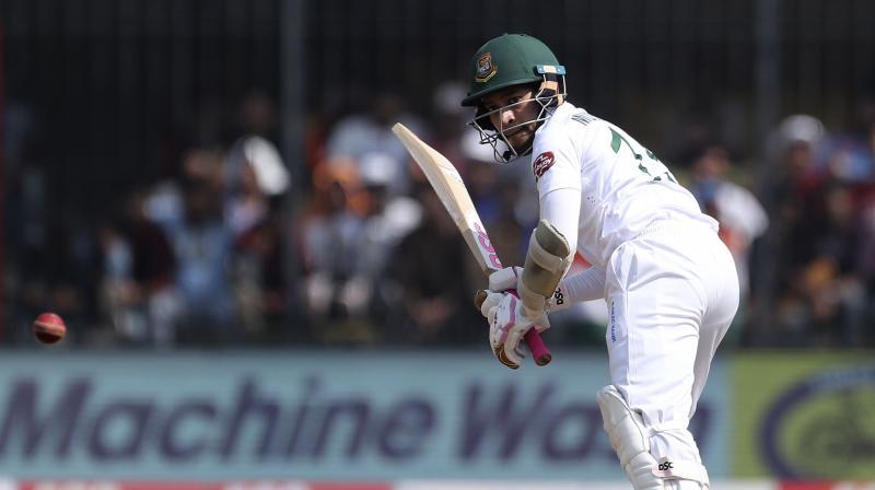 Mushfiqur Mushfiqur Rahim and Mahmudullah Riyad were batting at 9 and 6 respectively at the break. (Photo: AP)
