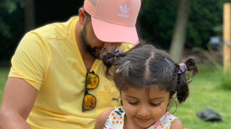 India batsman Suresh Raina said that seeing his daughter having breathing problems was a 'terrible sight'. (Photo: Twitter/ Suresh Raina)