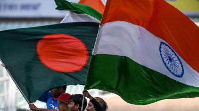 This is India's as well as Bangladesh's first-ever day-night Test. (Photo: AFP)