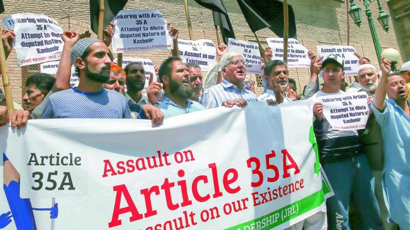 Article 35A is a clarificatory provision to clear the issue of constitutional position as observed in the rest of country in contrast to J&K.