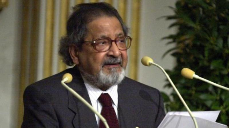 VS Naipaul (Photo: AFP)
