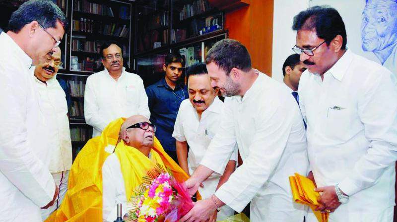 A highly imaginative Karunanidhi did not leave any opportunity to show his historical knowledge and interest in organising functions. (Photo: File/PTI)
