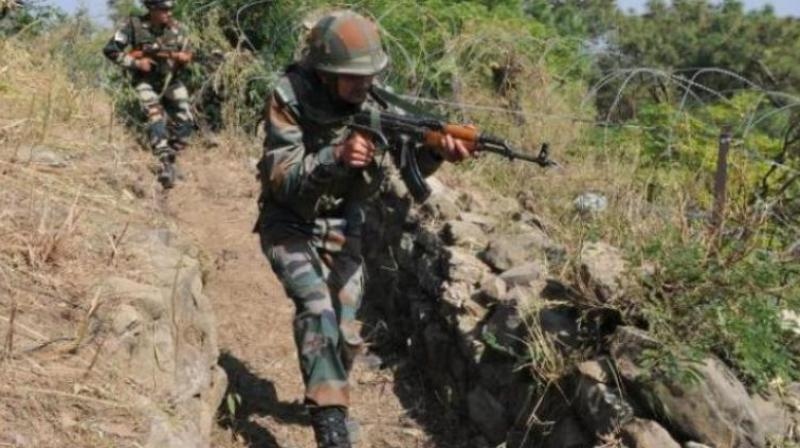 A terrorist was killed in an encounter with security forces in Bandipora district of north Kashmir on Monday morning, police said. (Photo: Representational Image/ File)
