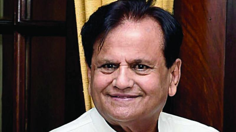 File image of Congress leader Ahmed Patel.