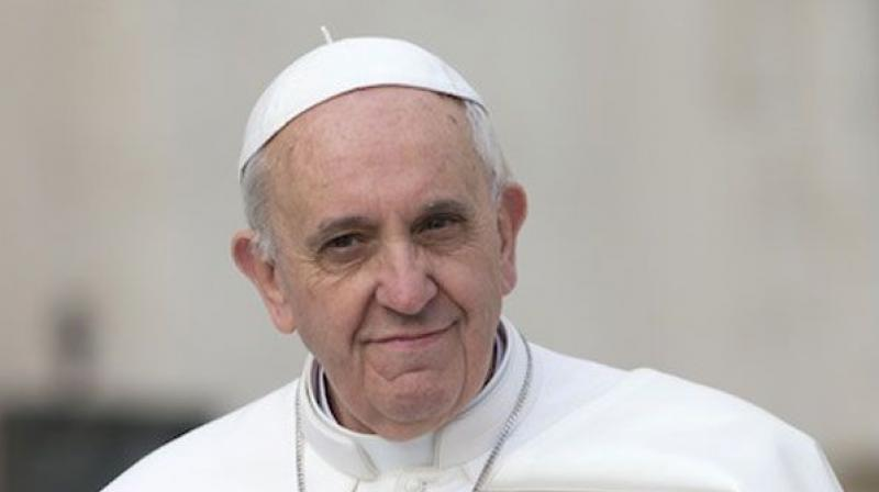 Pope Francis urges people to put intelligence and technology at the 'service of peace and true progress.' (Photo: File)