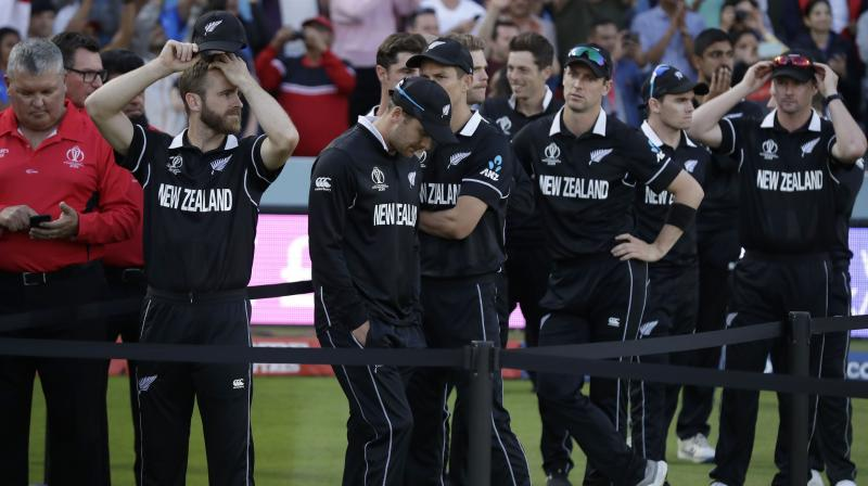 An all-night vigil by New Zealand fans ended in bitter disappointment when they saw their team beaten by England after an unprecedented Super Over and a tie-breaking countback in the final of the Cricket World Cup. (Photo:AP)