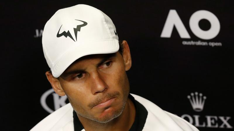 Rafael Nadal expressed his disappointment over his withdrawal and said he had an amazing time playing at the Laver Cup. (Photo: AP)
