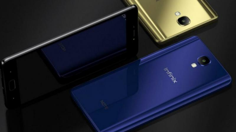 The phone has 4GB of ram and 64GB of internal storage, expandable up to 256 GB. It has a 5,000mAh battery and an AI-enabled Triple Rear Camera and is currently available in colours Quetzal Cyan and Cosmic Purple.(Representational Image)