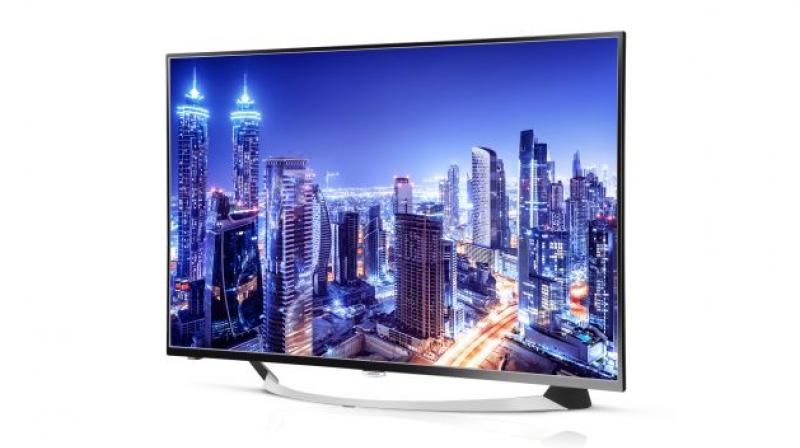 The Smart TV operates on Android 5.1, comes with in-built Intex App store and powered by the Quad Core 1.1GHz with 2.5GB RAM and 8GB ROM at a price of Rs 52,990.