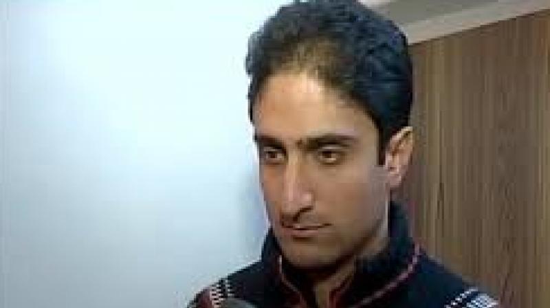 Mattu said he would contest the municipal polls from Srinagar to serve the people. (Photo: ANI/Twitter)