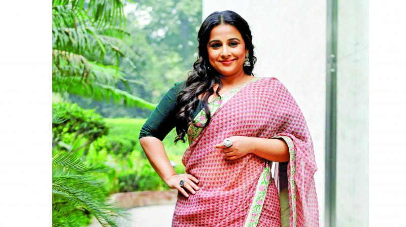 Maybe you're unhappy with your own body and that's why you're putting this (body-shaming comments) out there Vidya Balan