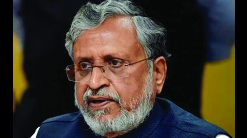 Deputy chief minister of Bihar Sushil Kumar Modi.
