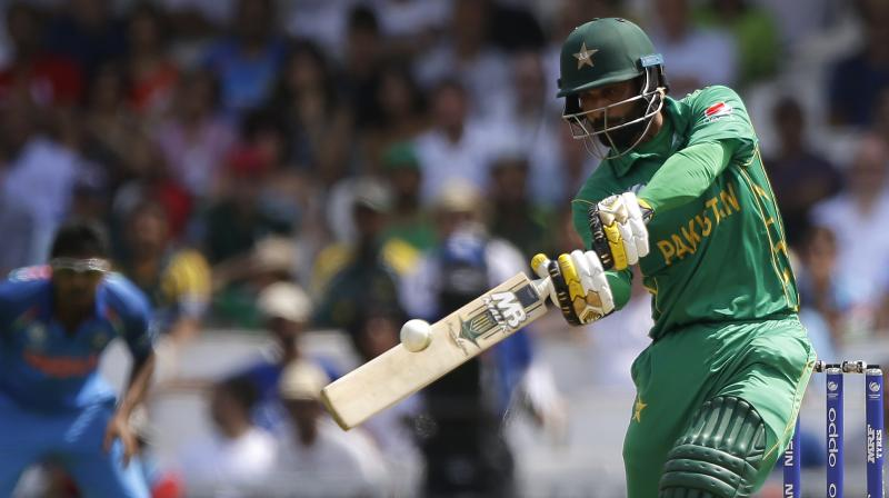 After playing and assessing the pitches, Hafeez feels that the pitches are going to be suitable for batsmen and believes that all the teams will manage to hit 'big scores'. (Photo:AP)