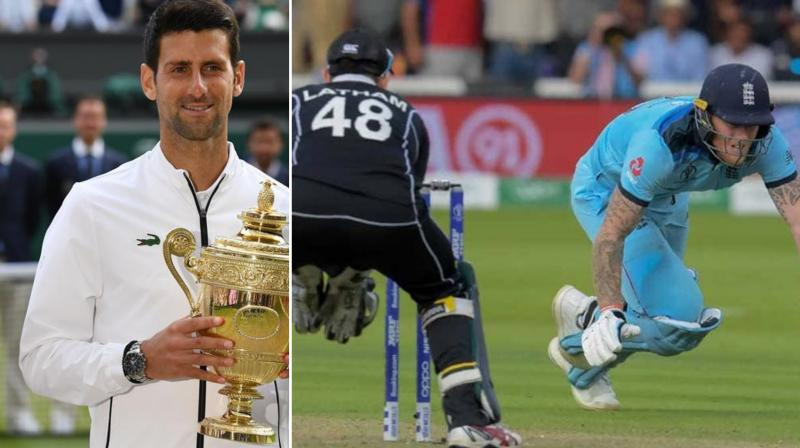 The International Cricket Council (ICC) on Tuesday relived the biggest sporting day of 2019, looking back at the finals of the ICC Men's Cricket World Cup and Wimbledon. (Photo:AFP)