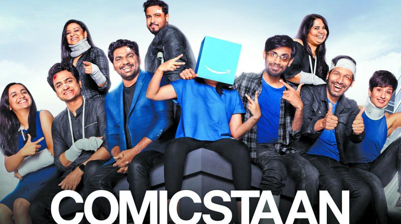 The critically acclaimed stand-up show Comicstaan  does not have any participant performing in regional languages.