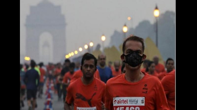 An AQI between 0 and 50 is considered 'good', 51 and 100 'satisfactory', 101 and 200 'moderate', 201 and 300 'poor', 301 and 400 'very poor', and 401 and 500 'severe'. (Photo: File   Representational)