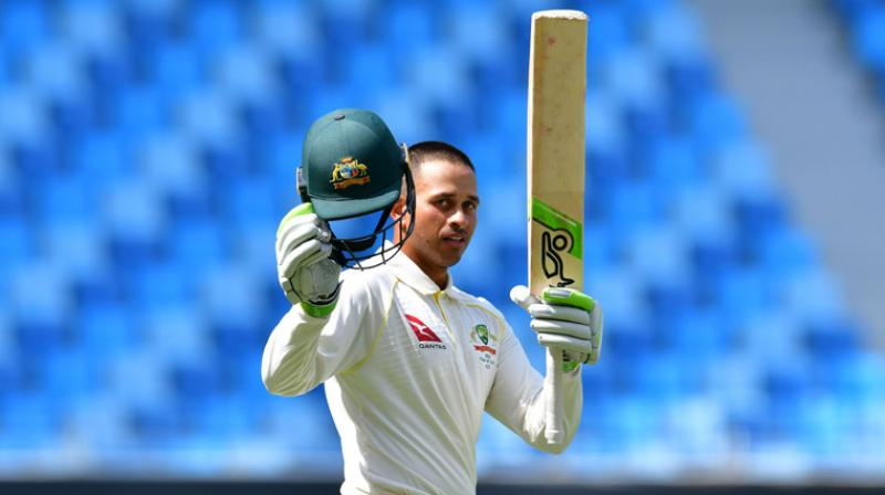Usman Khawaja will turn 33 at the end of this year, which means that he has, at best, about three to four years of top-class cricket left to survive in a squad like Australia. (Photo: AFP)
