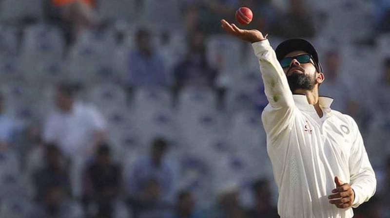 Despite becoming scoring 655 runs in India's 4-0 drubbing of England, Virat Kohli surprisingly missed a berth in the Test team of 2016. (Photo: BCCI)
