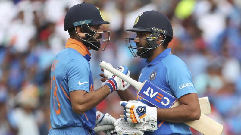 Virat Kohli and Rohit Sharma (Photo: AP)