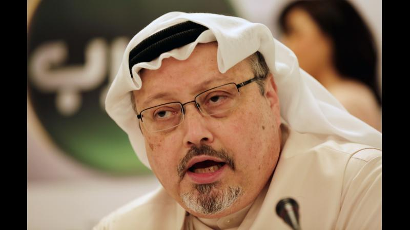 The Turkish authorities are focusing on a black van that left the premises as part of a convoy about two hours after Khashoggi entered the consulate. (Photo: AP)