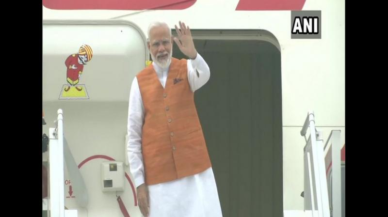 'We will be reviewing significant regional and global issues on the Agenda of the EAS, and examining the state of our current programmes and projects. I will also focus on our Indo-Pacific strategy, on which I am happy to note strong convergences with ASEAN partners and others at the EAS,' PM Modi said. (Photo: ANI)