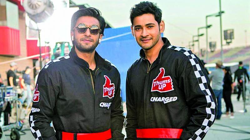 Ranveer Singh and Mahesh Babu