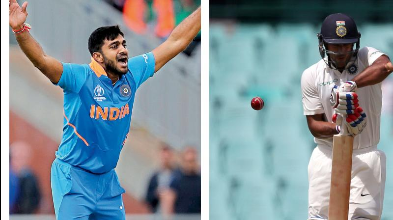 On Sunday, Shankar was replaced by Rishabh Pant in India's match against England in Birmingham. In Pant's debut at the World Cup, India saw their first loss, getting beaten by 31 runs at the hands of the hosts. (Photo:AP)