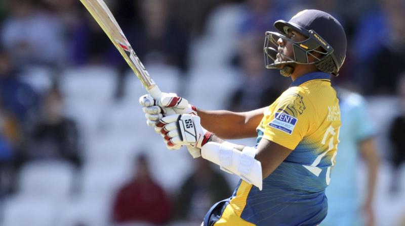During Sri Lanka's 20-run victory over England on June 21, Fernando scored 49 runs to help his side post a target of 233 for the hosts of the World Cup. (Photo:AP)