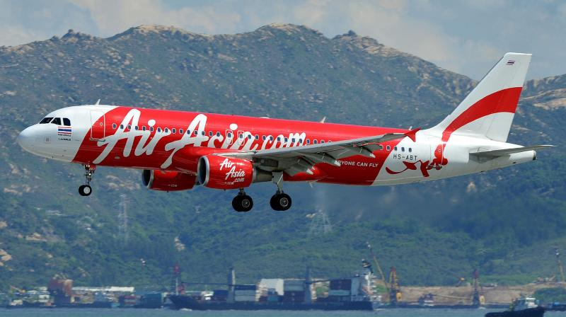 AirAsia cuts staff salaries by up to 20 pc for April. (AFP Photo)