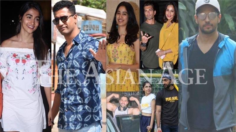 Stylish Bollywood: Varun, Vicky, Janhvi & others step out in style