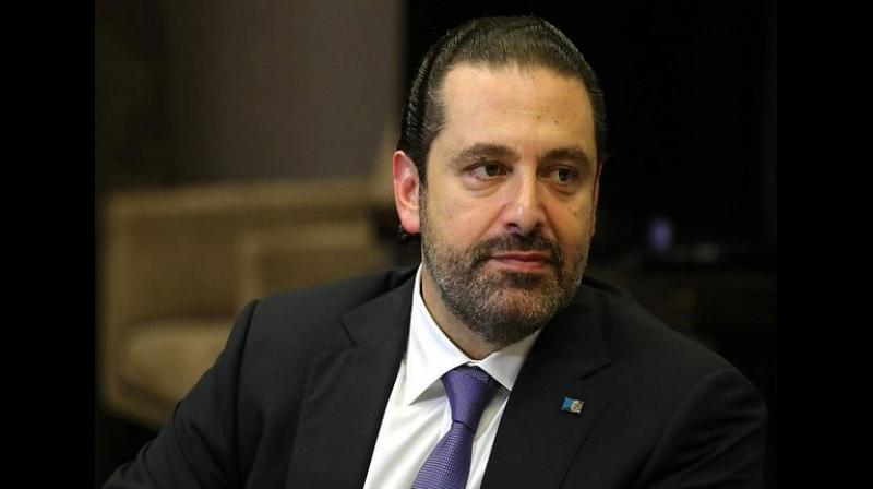 'I can't hide this from you. I have reached a dead-end. To all my political peers, our responsibility today is how to protect Lebanon and to uplift the economy. Today, there is a serious opportunity and we should not waste it,' Hariri said. (Photo: ANI)