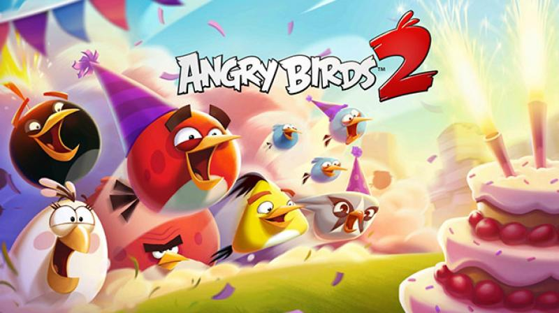 Total sales fell 17 per cent to 72 million euros but sales at the games business rose 6 per cent to 65 million euros. (Image: Rovio)