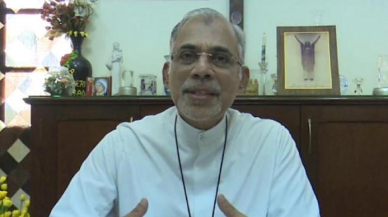 Archbishop of Goa and Daman Father Filipe Neri Ferrao had in a letter said the Constitution was in danger and most of the people were living in insecurity. (Photo: ANI)