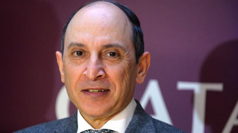 Qatar Airways Chief Executive Akbar Al Baker said his remarks at the closing of a global airlines gathering on Tuesday had been intended as a joke and taken out of context. (Photo: AFP)