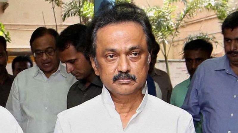 DMK treasurer M.K. Stalin (Photo: PTI)