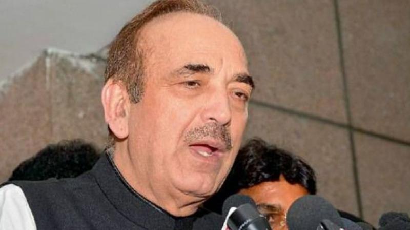 Ghulam Nabi Azad (Photo: PTI/File)