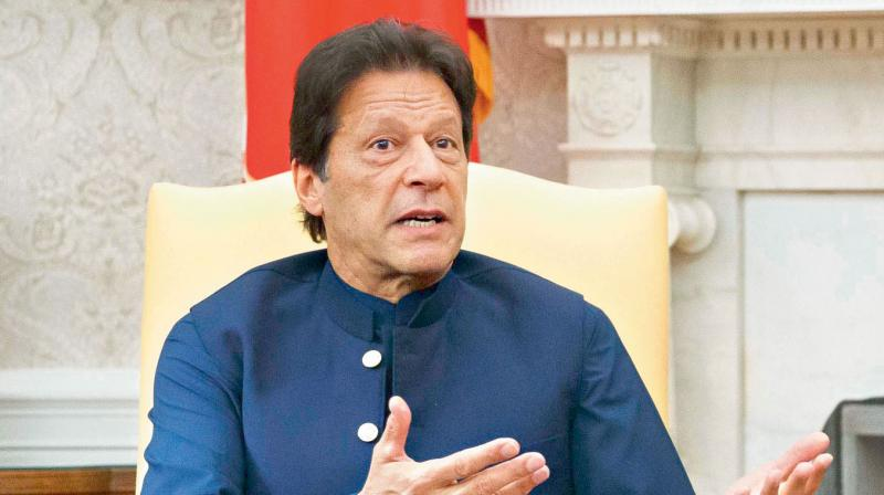 Khan held consultations with key members of his Cabinet on Friday and decided that Pakistan could not go ahead with any trade with India under the current circumstances. (AP file photo)