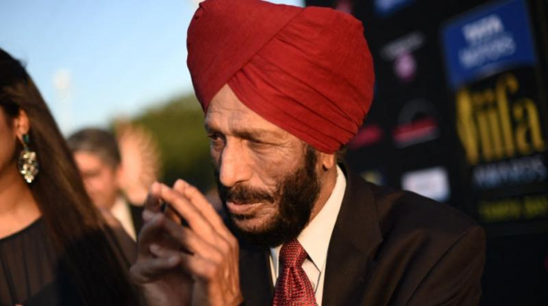 As soon as the new of his passing spread, people across India condoled the demise of  the original sporting superstar, Milkha Singh. (AFP Photo)