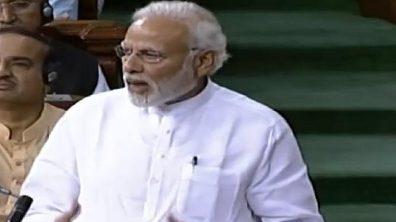 Congress gave notices for breach of privilege against Prime Minister Narendra Modi and Defence Minister Nirmala Sitharaman in Lok Sabha for 'misleading' the House on the Rafale deal issue. (Photo: AP)