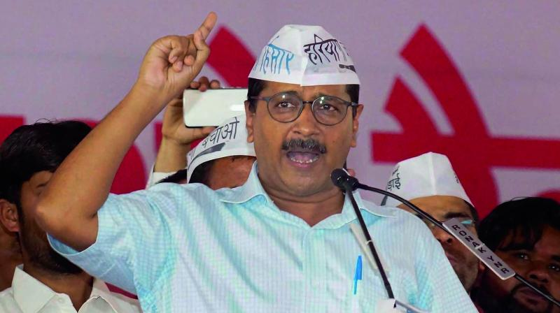 On being pointed that other political parties have opposed division of the state, AAP said the BJP has been a supporter of formation of smaller states.(Photo: File)